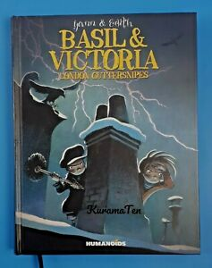 Basil and Victoria London Guttersnipes HardCover By Yann