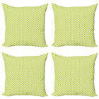Ambesonne Vintage Cushion Cover Set of 4 for Couch and Bed in 4 Sizes