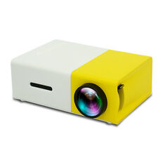 Mini YG300 LCD Projector 50 Lumens 320 x 240 Pixels 3.5mm Audio/HDMI/USB/SD/AV