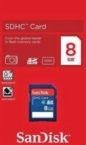Genune SanDisk 8gb SD Card SDHC SDXC Memory Card Class 4 8 GB Digital Cameras