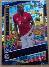 16 17 CHAMPIONS LEAGUE MATCH ATTAX BOATENG 100 CLUB CARD BAYERN MUNICH TOPPS UCL