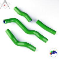 Green For 2008-2015 KAWASAKI KLX250 DTRACKER Silicone Radiator Coolant Hoses Kit