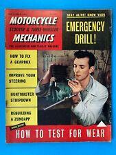 MotorCycle Mechanics Magazine - Sept 1961 - Huntmaster Stripdown - Zundapp