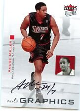 Andre Miller 2007-08 Fleer Ultra Autographics On Card Auto Autograph