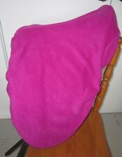 Horse Stock / Western / Swinging Saddle cover FREE EMBROIDERY Hot Pink