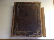 The Wilkie Gallery Leather Bound Book Of Artworks, 1800's
