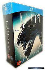 Alien Anthology Edición 1,2,3,4 Blu-Ray Box-Set,Resurrection,Alemán Sonido