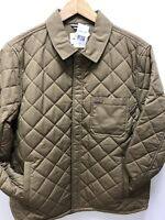 Lacoste Quilted Jacked In Beige 52