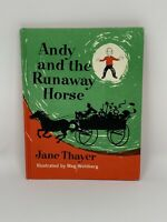 ANDY AND THE RUNAWAY HORSE Vintage Jane Thayer Hardcover book 1963
