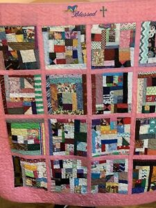 "Quilt Titled ""Blessed"""