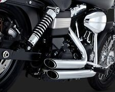 Vance & Hines Shortshots Staggered Exhaust 2012-2015 Harley Dyna / 17227