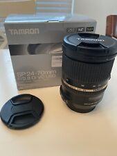 Tamron SP 24-70mm f2.8 DI VC USD Lens Canon EF