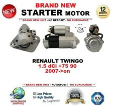 FOR RENAULT TWINGO 1.5 dCi +75 90 2007-> BRAND NEW STARTER MOTOR 1.4 kW 12 Teeth
