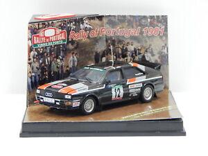 1:43 Audi Quattro - 1981 Rally of Portugal (M.Mouton/F.Pons) #12 Vitesse 42053