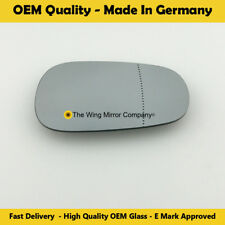 Left Side Wide Angle Wing Mirror Glass For Nissan Micra (K12) 2003 To 09-2010