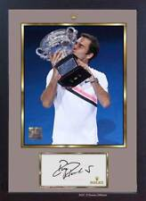 Roger Federer signed autograph Tennis Memorabilia Framed photo picture print
