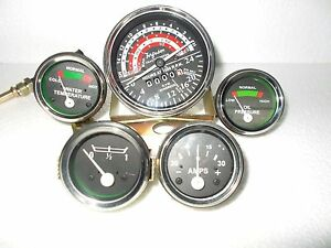 Massey Ferguson Tractor Gauge Kit + Tachometer Anti Clockwise-35 , 133, 135, 140