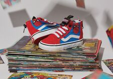 Vans SK8 HI ZIP Marvel Spider-Man Toddler Shoes 4.5 US