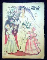 Le Petit Echo de la Mode année 1948, Ancien magazine Français N°12