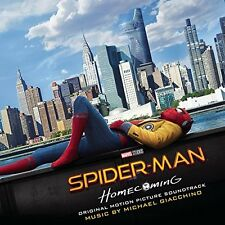 SPIDER-MAN: HOMECOMING CD - ORIGINAL MOTION PICTURE SOUNDTRACK (2017) - NEW