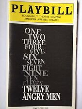 Twelve Angry Men - May 2005 Playbill Signed by Foxworth, Gaines, Mastro, Pankow