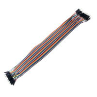 40 x Jumper Leads Male to Male Breadboard Arduino Wires Prototyping 300mm