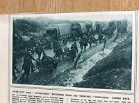 t1-9 ephemera ww1 picture the middlesex regiment at the front 1916