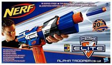 NEW NERF N-STRIKE ELITE ALPHA TROOPER Rapid-Fire CS-12 GUN