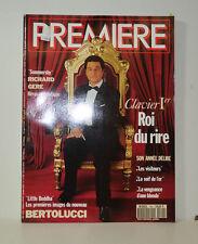 PREMIERE MAGAZINE 1993 RICHARD GERE - BERTOLUCCI - CHRISTIAN CLAVIER   (P61)