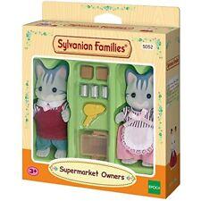 Sylvanian Families 5052 chats Commerçants