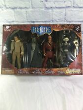 NRFP Action Figures Farscape Toy Vault Set CRICHTON, ZHAAN, D'ARGO, CHIANA
