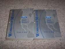 2005 Ford E350 Shop Service Repair Manual Cargo Wagon Van Ext 6.0L V8 Diesel