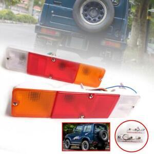 1 Pair Tail Light Lamp For Suzuki Samurai SJ410 SJ413 Jimny JA51 1300 Sierra