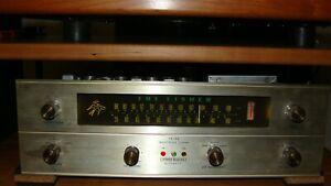 Vintage R200 Fisher Tubed tuner. 1963 Completely Rebuilt To Spec! NICE-No Rust.