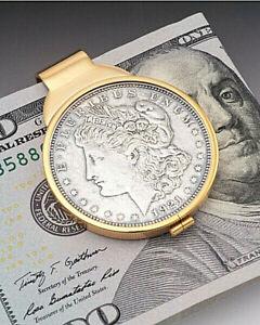 Morgan Dollar Money Clip, Lady Liberty Money Clip, Mens Gifts, ( # 324UM )