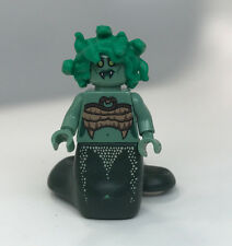 Custom Lego Print minifigure MEDUSA series figure minifig gril green hair