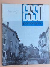Magazine d'entreprise ESSO PANORAMA n°46 Mars 1967 Pétrole Oil Industry Revue
