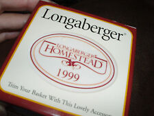 Longaberger 1999 Homestead Tie On