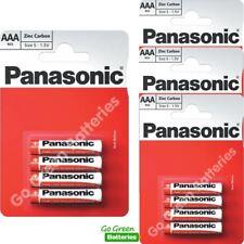 16 x Panasonic AAA Zinc Carbon Batteries - LR03, MX2400, MN2400, MICRO