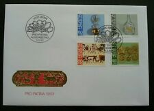 Switzerland Pro Patria Folk Art 1995 (stamp FDC)