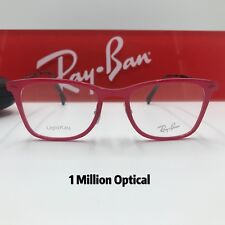 f379d13f913 New Authentic Ray-Ban Eyeglasses RB7066 5641 49 Red Color
