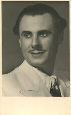 ERICH WITTE - orig. Autogramm - Wien 1940, Opernsänger, Tenor