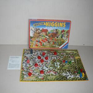 Inspector Higgins 1988 Vintage Board Game Ravensburger 100% Complete
