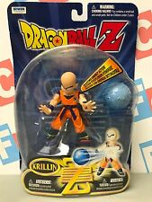DBZ Irwin Toys Bandai Dragon Ball Z Deluxe Blasting Energy Krillin Figure