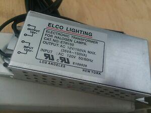 Elco Lighting ETR150 150VA/12V/60Hz Electronic Transformer