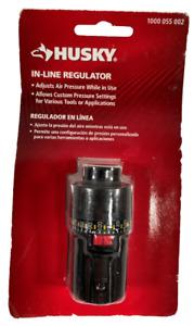 Husky 1/4 in. NPT In-Line Regulator 25 SCFM @ 125 PSI Model #41145HOM