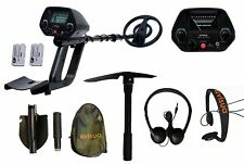 Visua Md10 Serious Entry Level Waterproof Discriminating Metal Detector Kit