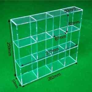 Acrylic Display stand Medium compartment Box Figures,WarHammer,Model,LEGO,Funko