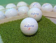 NEW UNUSED • Vintage 1960's DON JANUARY SHAKESPEARE GOLF BALL #3 • MINT