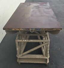 "WELDING LAYOUT TABLE WORK BENCH 36"" x 72"" x 31""H / 1-1/4"" THICK PLATE WELDING"